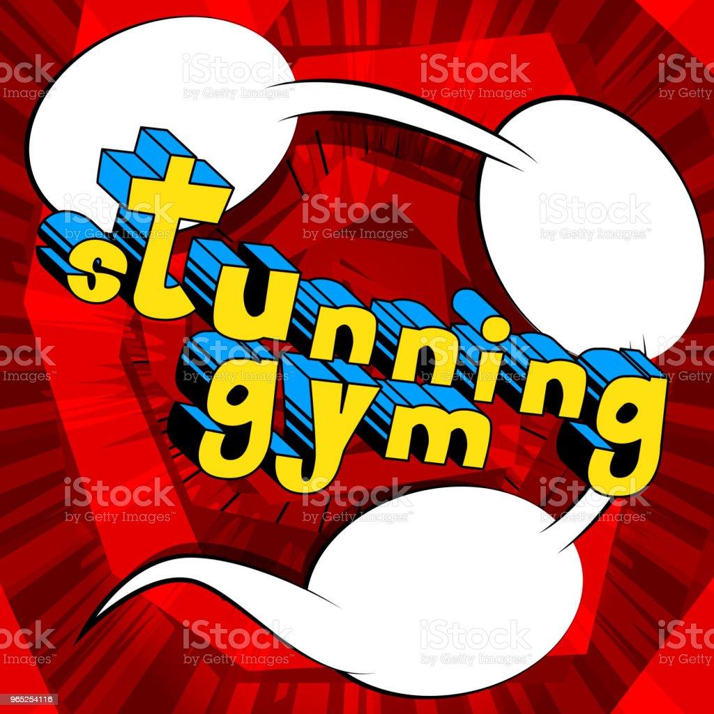 Stunning Gym stunning gym - stockowe grafiki wektorowe i więcej obrazów abstrakcja royalty-free
