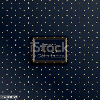 istock stylish dark pattern with diamond shape design 1271946709