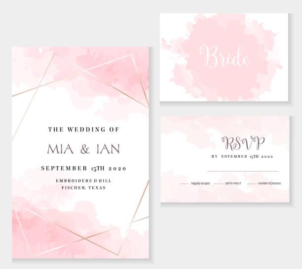 時尚的塵土飛揚的粉紅色和金色幾何向量設計卡。 - 淺粉色 幅插畫檔、美工圖案、卡通及圖標
