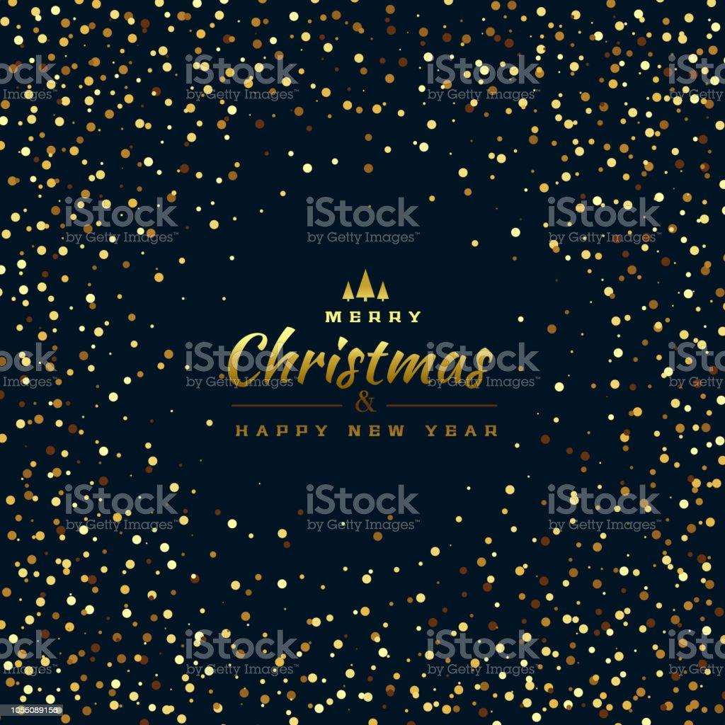 Frohe Weihnachten Glitzer.Stilvolle Glitzer Hintergrund Für Frohe Weihnachten Stock Vektor Art