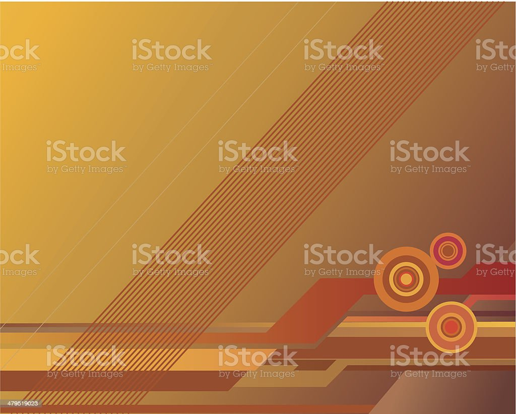 Stylish golden background royalty-free stock vector art