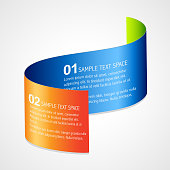 stylish infographic template