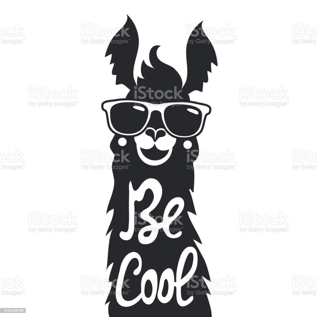 Llama Clipart Black And White Royalty Free Llama Cli...