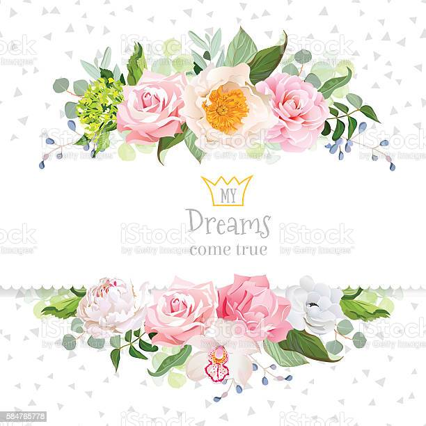 Stylish mixed flowers horizontal vector design frame vector id584765778?b=1&k=6&m=584765778&s=612x612&h=rpmdrrc1uegje7dbxkznesdcvjzq9pqv3h8 snemj14=