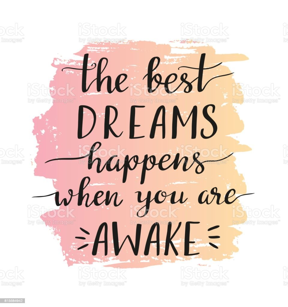Frase Motivacional Con Estilo Los Mejores Sueños Ocurre