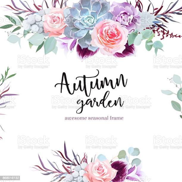 Stylish plum colored and pink flowers vector design card vector id868016132?b=1&k=6&m=868016132&s=612x612&h=hrgonvlecq0ph99kkk3i8eszsoxe wx1kunimws5re0=