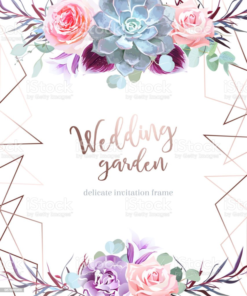 Stylish plum colored and pink flowers vector design card stock stylish plum colored and pink flowers vector design card royalty free stylish plum colored and izmirmasajfo