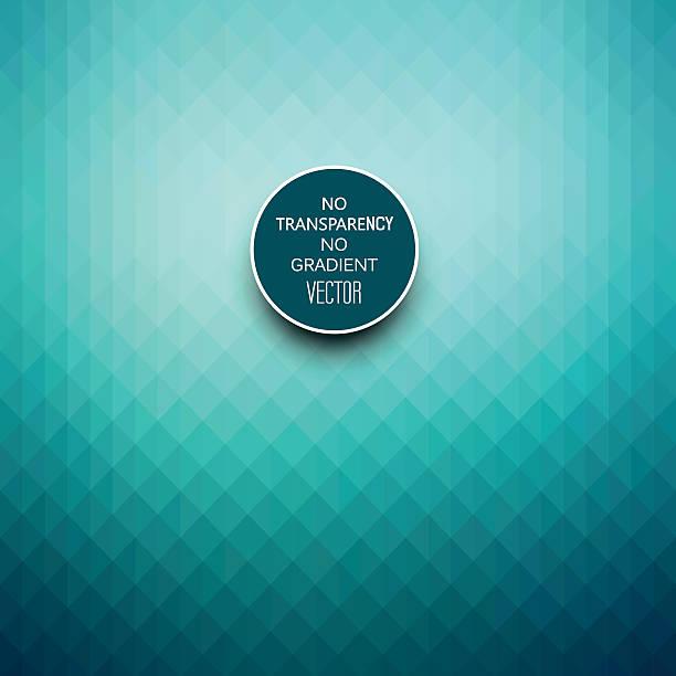 Elegante fondo geométrico azul turquesa - ilustración de arte vectorial