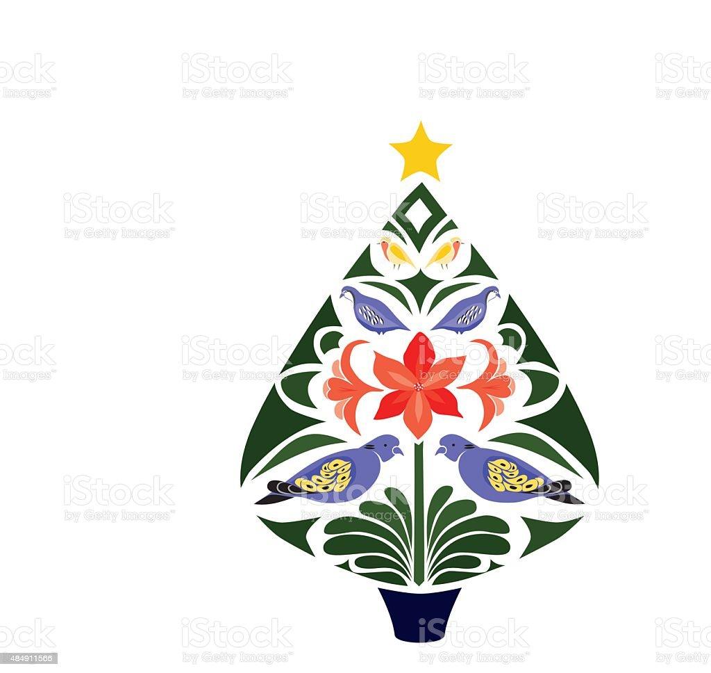 Stylistic Christmas Tree