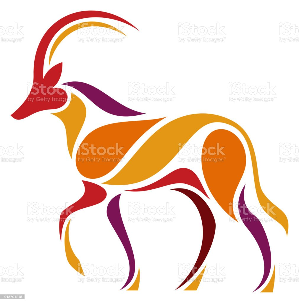 royalty free sable antelope clip art vector images illustrations rh istockphoto com antelope head clipart pronghorn antelope clipart