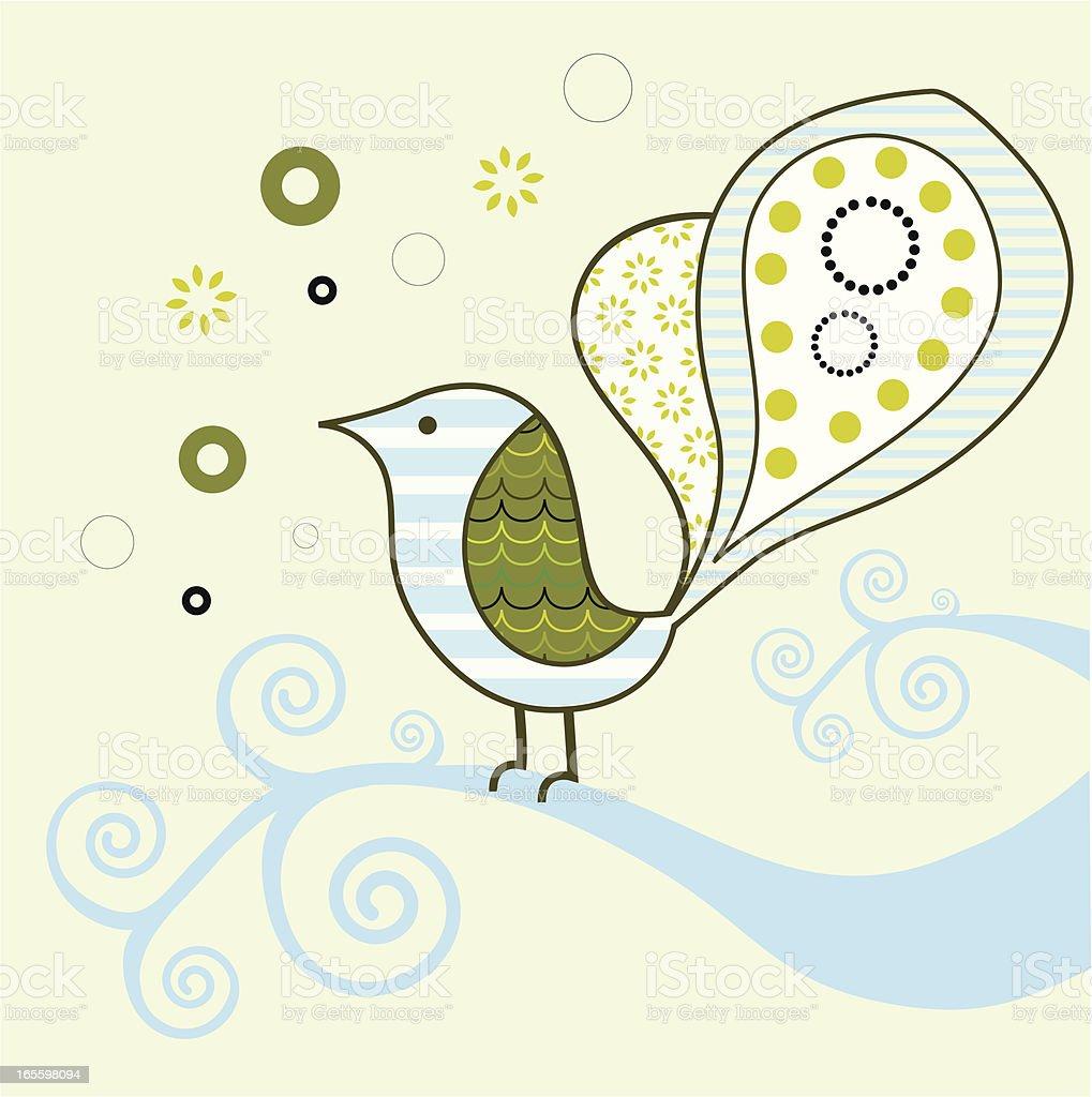 Stylized bird royalty-free stylized bird stock vector art & more images of animal