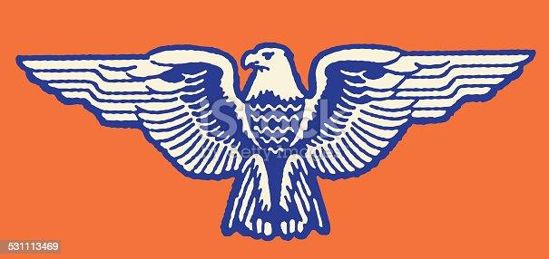 istock Stylized Eagle 531113469