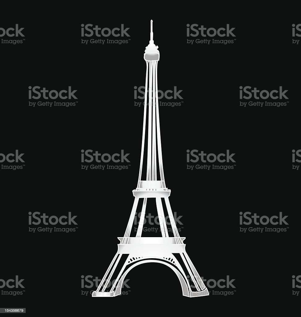 Stylized eiffel tower royalty-free stylized eiffel tower stock vector art & more images of architecture