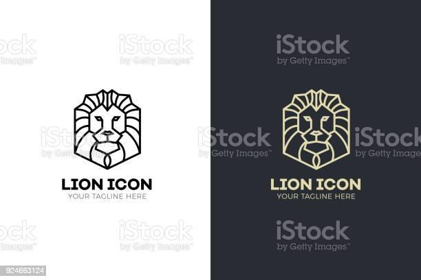 Stylized geometric lion head illustration vector icon tribal design vector id924663124?b=1&k=6&m=924663124&s=612x612&h=vltn9zxnttebd1nsgnnwqlpmudyao35cbhiuen2p4ni=