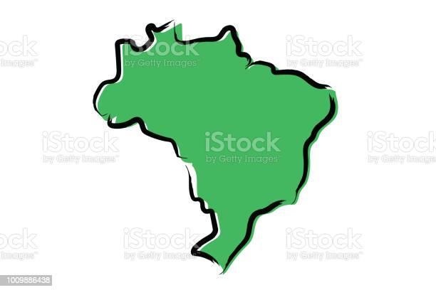 Stylized green sketch map of brazil vector id1009886438?b=1&k=6&m=1009886438&s=612x612&h=fmusg3m3dkwsr6saxnjap3r8srlaqq e14obcsbg5sw=