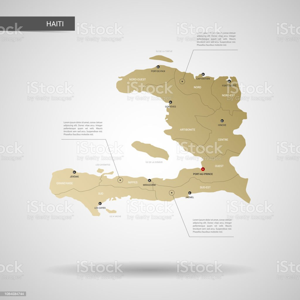 Cartina Geografica Haiti.Stylized Haiti Map Vector Illustration Immagini Vettoriali Stock E Altre Immagini Di Carta Geografica Istock