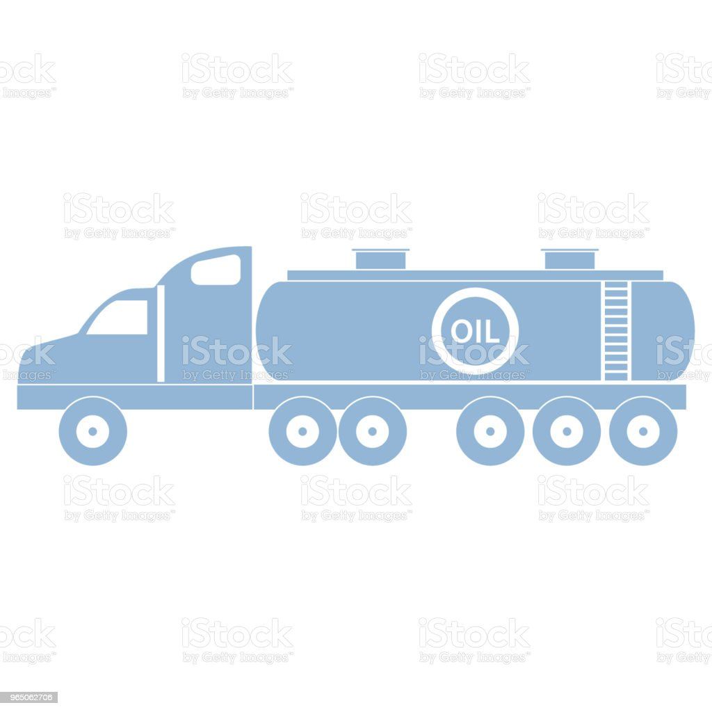 Stylized icon of the oil tanker/fuel tanker royalty-free stylized icon of the oil tankerfuel tanker stock vector art & more images of biofuel