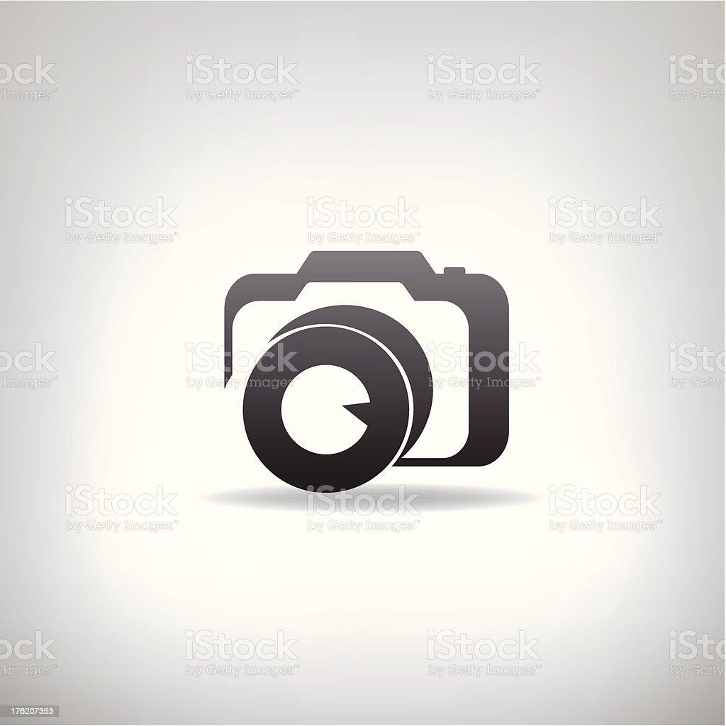 Stilisierte Foto Kamera Stock Vektor Art und mehr Bilder von ...