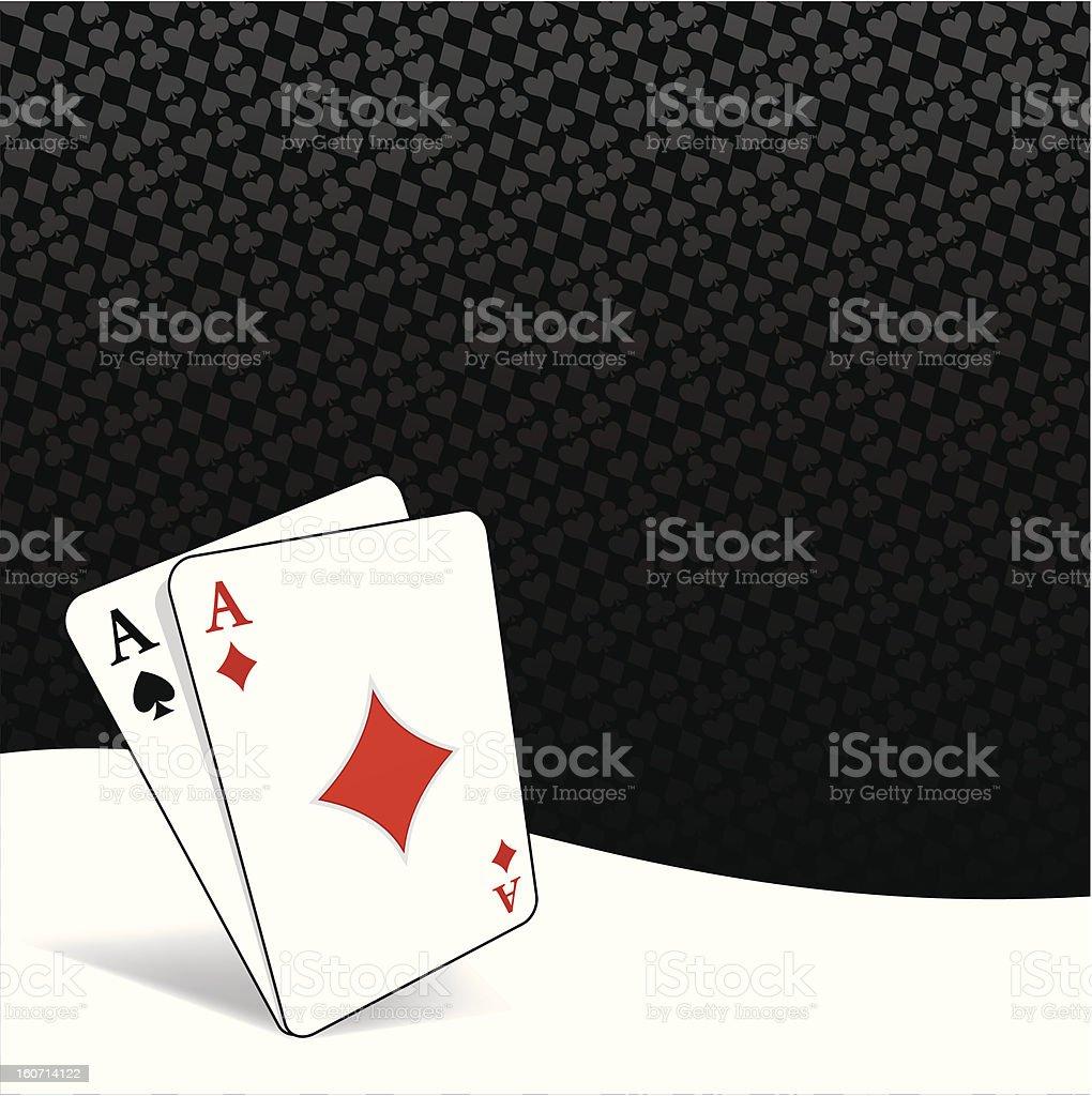 Stylized poker background royalty-free stock vector art