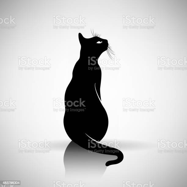 Stylized silhouette of a cat vector id483298304?b=1&k=6&m=483298304&s=612x612&h=rcnm3avjkdu4qog8al6gvqtwhjf io2kx6hjwet2hxq=