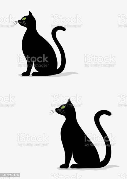 Stylized silhouette of black cats vector id907252476?b=1&k=6&m=907252476&s=612x612&h=mtoyivtk8n54asrpx3t4qtuv90s7uug6senoaubzvso=
