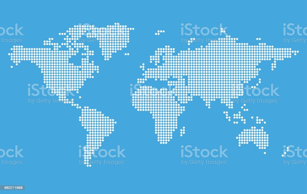 Stylized world map stock vector art more images of abstract stylized world map royalty free stylized world map stock vector art amp more images gumiabroncs Gallery