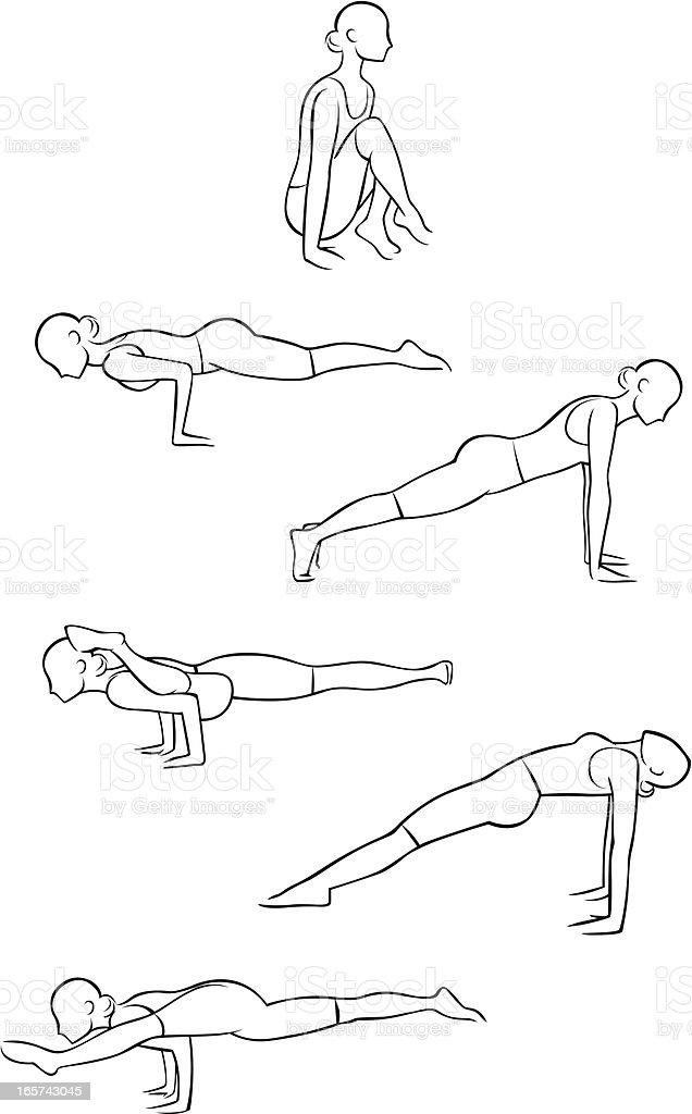 yoga illustrations