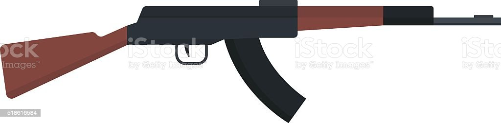 royalty free ak 47 clip art vector images illustrations istock rh istockphoto com ak 47 vector image ak 47 vector art