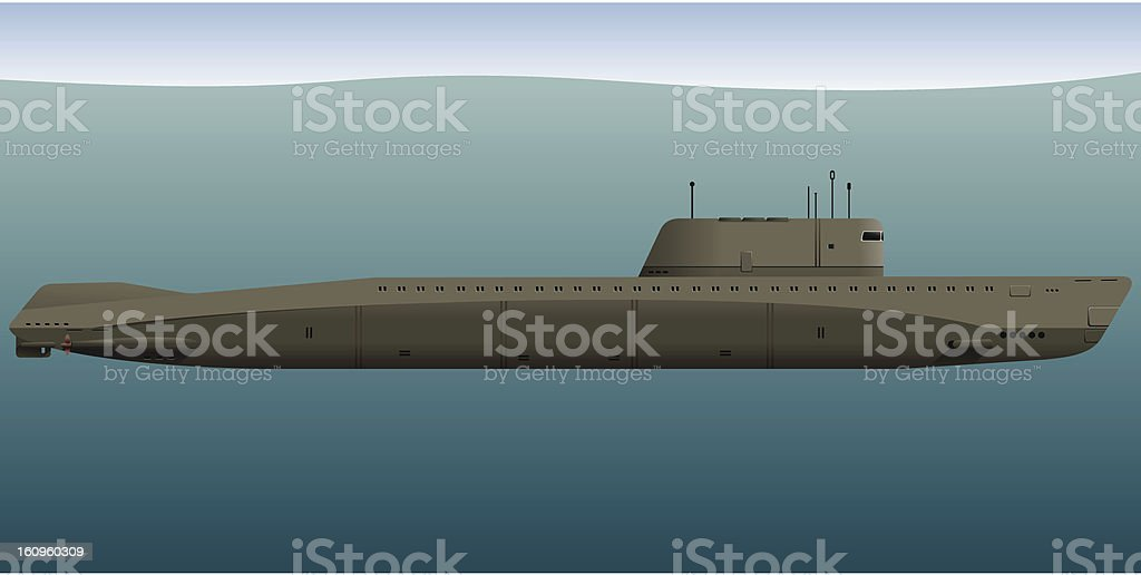 Submarine royalty-free submarine stock vector art & more images of ferry