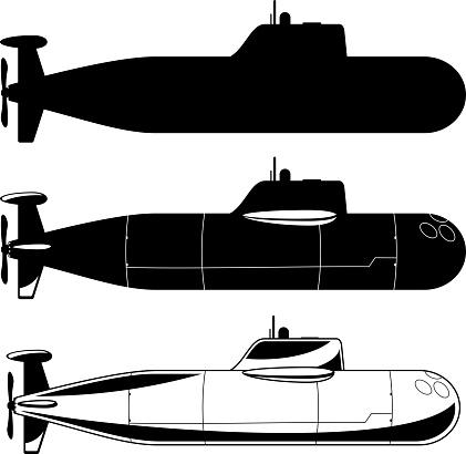 Submarine War Icons