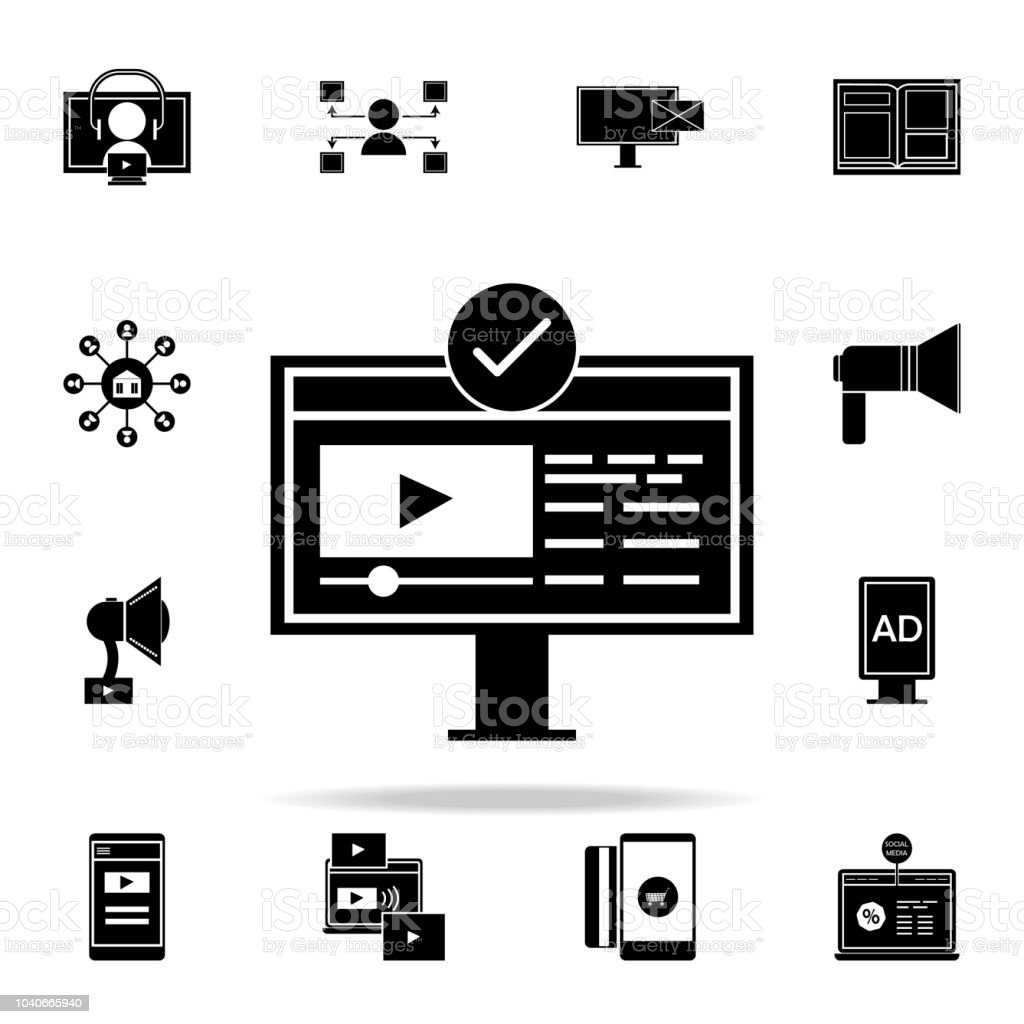 Subscription Icon Digital Marketing Icons Universal Set For Web And