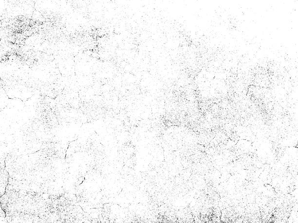 ilustraciones, imágenes clip art, dibujos animados e iconos de stock de subtle grain texture overlay. vector background - textura grunge