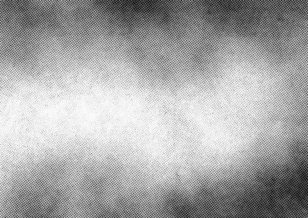 subtelna nakładka tekstury półtonów - brudny stock illustrations