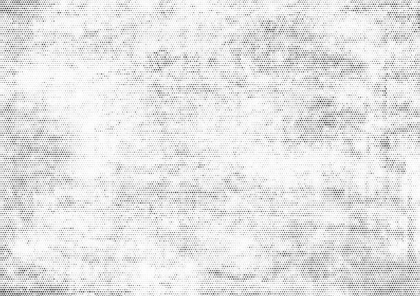 subtile halbton-punkte vektortextur-overlay - verzweiflung stock-grafiken, -clipart, -cartoons und -symbole