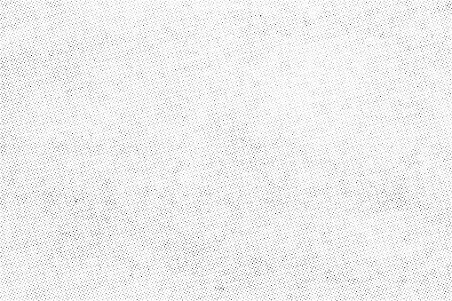 Subtle halftone dots vector texture overlay