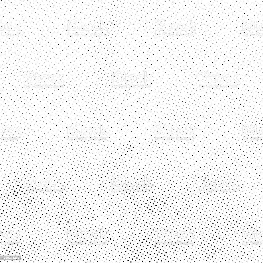 Subtle Halftone Dots Vector Texture Overlay Stock Vector