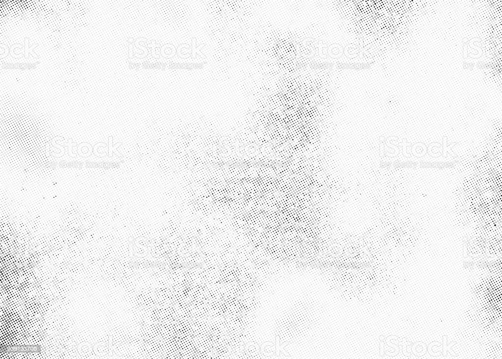 Subtle halftone dots vector texture overlay vector art illustration
