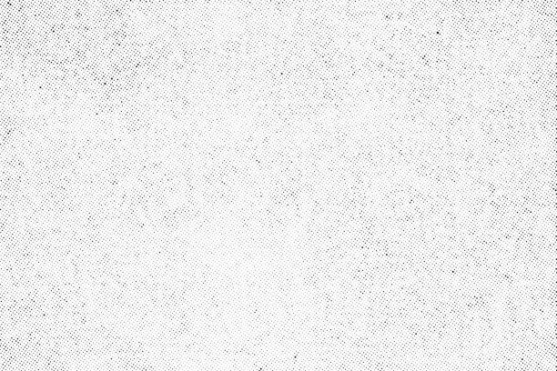 Subtle halftone dots vector texture overlay Subtle halftone vector texture overlay. Monochrome abstract splattered background. multi layered effect stock illustrations