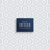 istock subtle hexagonal lines pattern background 1125036786