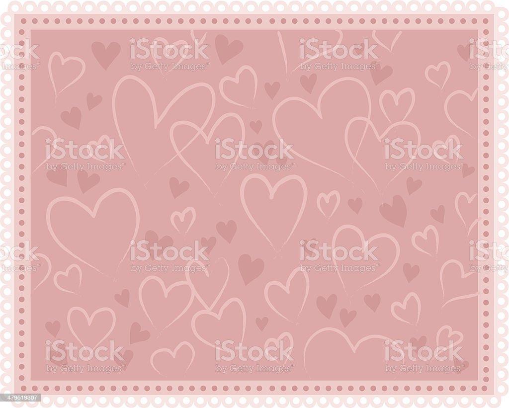 Subtle love royalty-free stock vector art