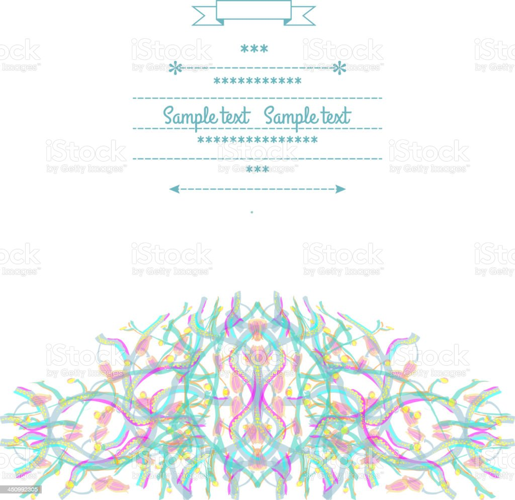 Subtlety royalty-free stock vector art