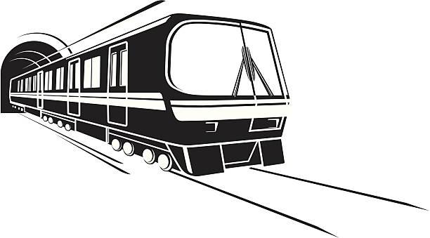 illustrations, cliparts, dessins animés et icônes de métro train - métro