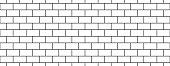 istock subway tile background. white seamless patter for kitchen backsplash, bathroom wall, shower. ceramic vector texture 1305074666