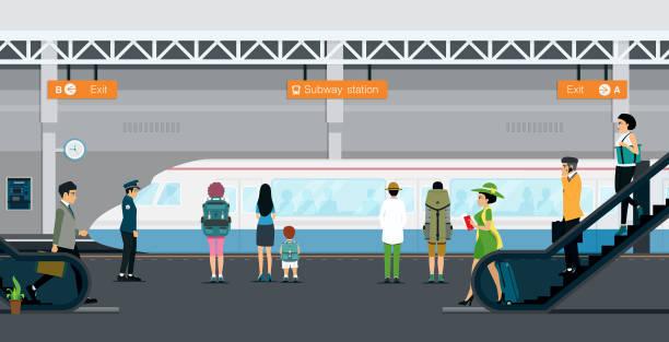 지하철 - 튜브 stock illustrations