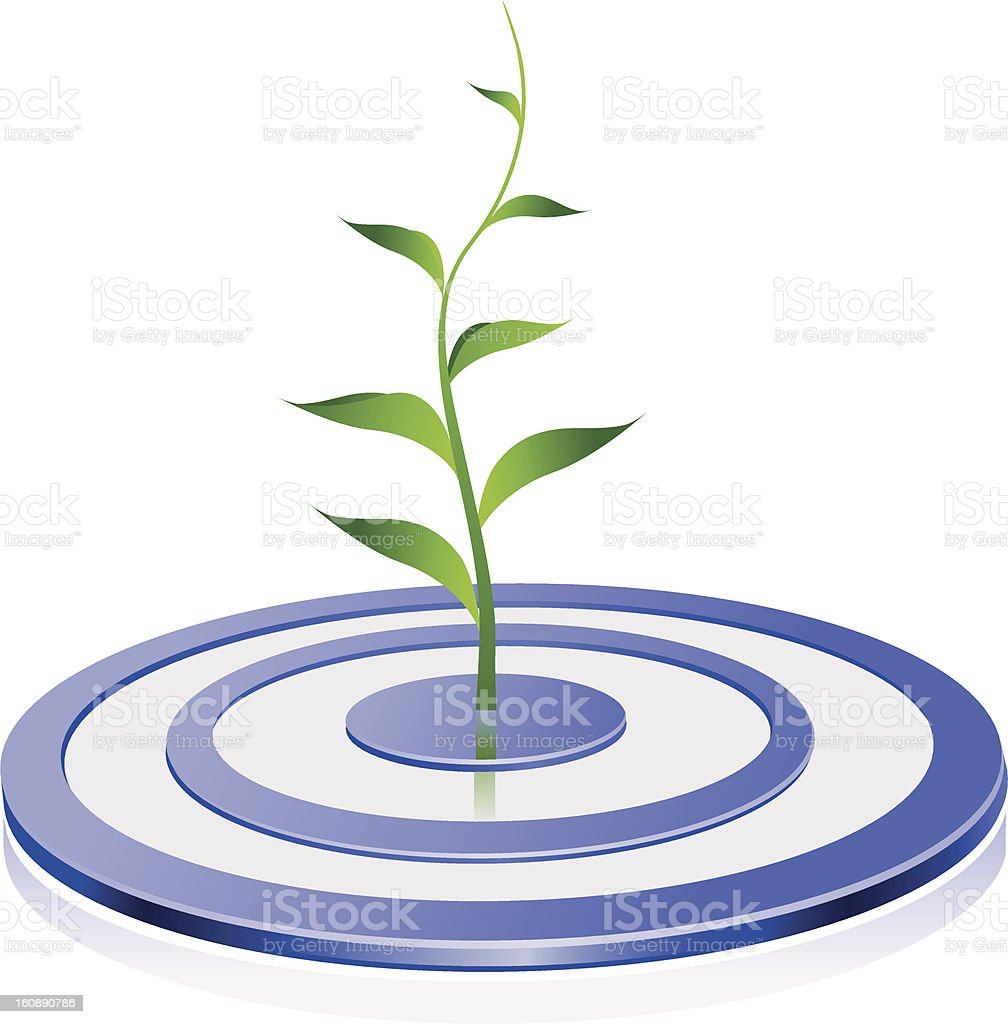 Success Growing royalty-free success growing stock vector art & more images of bull's-eye