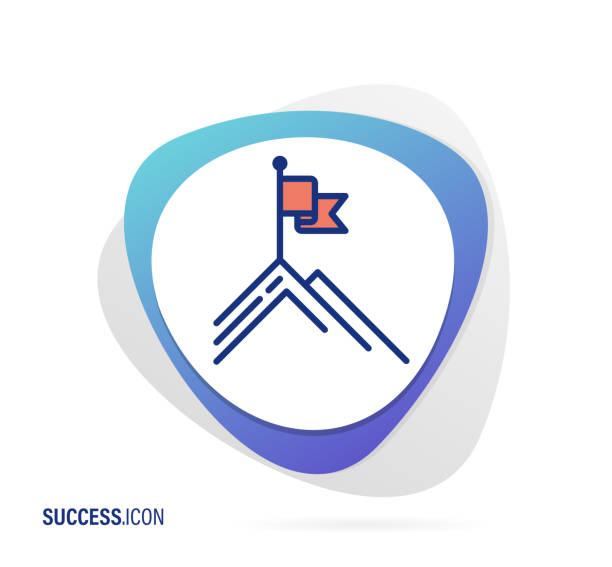 Success Icon Vector Illustration for Success Icon uniform cap stock illustrations