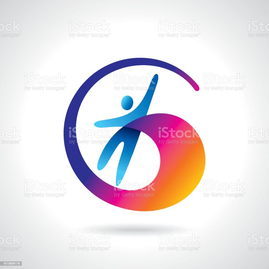 success, leadership and victory icons and symbols with joy vector art illustration