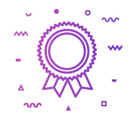 Success Line Style Icon Design