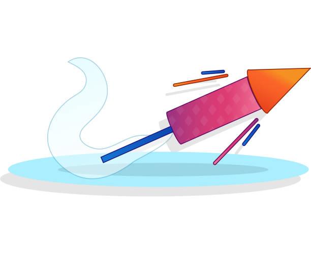 Erfolg Rakete Starten – Vektorgrafik