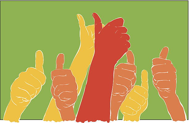 success vector art illustration